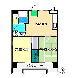レジデンス・ノナミ[3階]の間取り