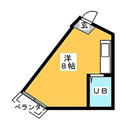 まちだどう12番館[3階]の間取り