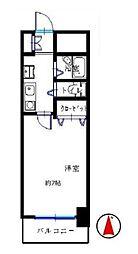 神奈川県海老名市中央3丁目の賃貸アパートの間取り