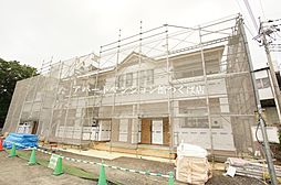 茨城県つくば市小田の賃貸アパートの外観