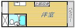 メゾン・ド・シュミネ[2階]の間取り