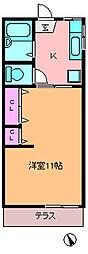 グレートハウス[1階]の間取り