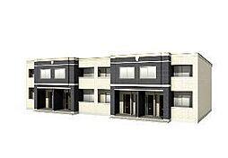 木更津市長須賀593番1新築アパート[102号室]の外観