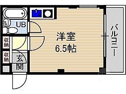 OMレジデンス総持寺[2階]の間取り