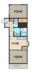 トータスハウス[2階]の間取り