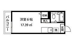 東京都大田区南馬込1丁目の賃貸マンションの間取り