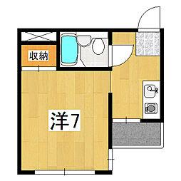 アンバーハウス四条[3階]の間取り