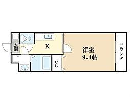 ジュネス・ド・ブランシェ(3月31日入居可能)[3階]の間取り