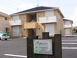 群馬県太田市岩瀬川町の賃貸アパートの外観