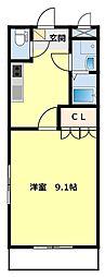 愛知県豊田市東新町3丁目の賃貸アパートの間取り
