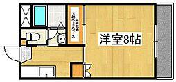 リッチマンション[2階]の間取り