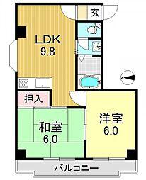 クロス9パーク神田[3階]の間取り