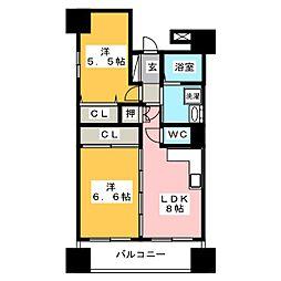 ヒルクレスト博多駅[11階]の間取り