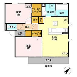 セレーノ IIB /[1階]の間取り