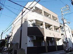 大阪府東大阪市足代北1丁目の賃貸アパートの外観