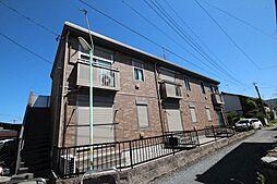 愛知県名古屋市中川区供米田3丁目の賃貸アパートの外観