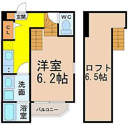 K's Garden栄生II (ケーズガーデンツー)[1階]の間取り