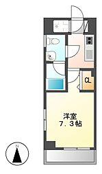 ライブコート泉[8階]の間取り