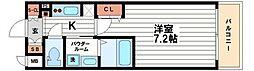 プライムアーバン北浜[14階]の間取り
