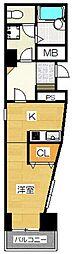 スペーステック駅南II[1階]の間取り
