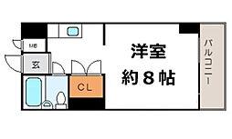 グレイスフル中崎II[5階]の間取り