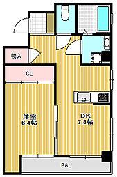 ユニオンビル[9階]の間取り