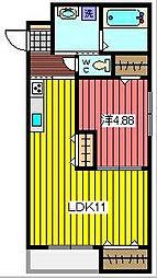 KIMA GRESO[1階]の間取り