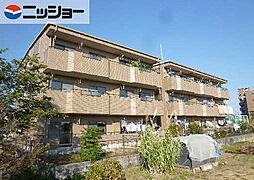 愛知県春日井市下屋敷町字下屋敷の賃貸マンションの外観