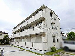 神奈川県茅ヶ崎市柳島の賃貸アパートの外観