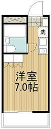 ビラ田無[4階]の間取り