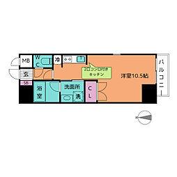 サムティ東別院RESIDENCE[2階]の間取り