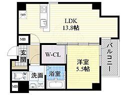 百舌鳥八幡駅 9.9万円