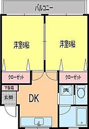 藤井マンション[503号室号室]の間取り