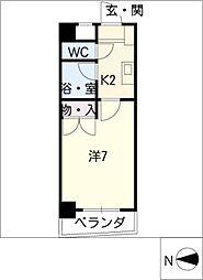 シャンポール大針II[3階]の間取り