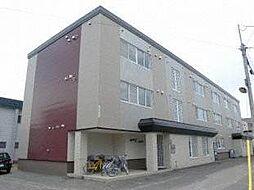 北海道札幌市東区北十九条東9丁目の賃貸マンションの外観