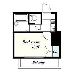 ラ・ムール[1階]の間取り