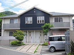 福岡県福岡市東区下原3丁目の賃貸アパートの外観