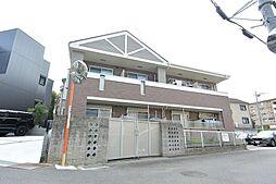 大阪府枚方市茄子作北町の賃貸アパートの外観