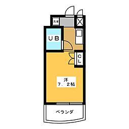 フィレンツェ名駅[1階]の間取り