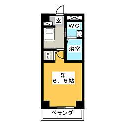 八事ガーデンヒルズ[5階]の間取り