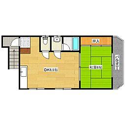 ドールハウス(どぉるはうす)[2階]の間取り