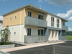 クレセオ B棟[2階]の外観