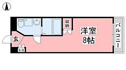 カローラ清水町[10階]の間取り
