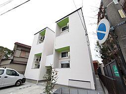 愛知県名古屋市中川区山王1丁目の賃貸アパートの外観