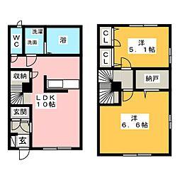 ビナインA棟[1階]の間取り