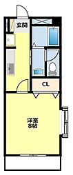愛知県豊田市本新町2丁目の賃貸マンションの間取り