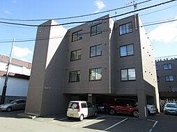 北海道札幌市東区北二十四条東12丁目の賃貸マンションの外観