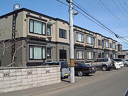 北海道札幌市手稲区前田一条4丁目の賃貸アパートの外観