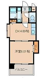 グレース黒崎[6階]の間取り