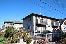栃木県鹿沼市上材木町の賃貸アパートの外観